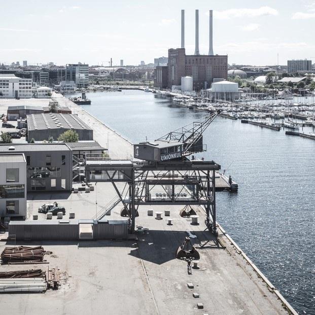 vista del puerto de copenhague diariodesign