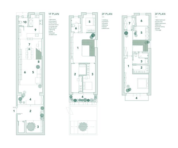 A white house a growing home casa en shanghai planos diariodesign