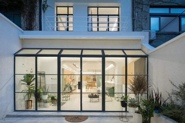 A white house a growing home casa en shanghai diariodesign