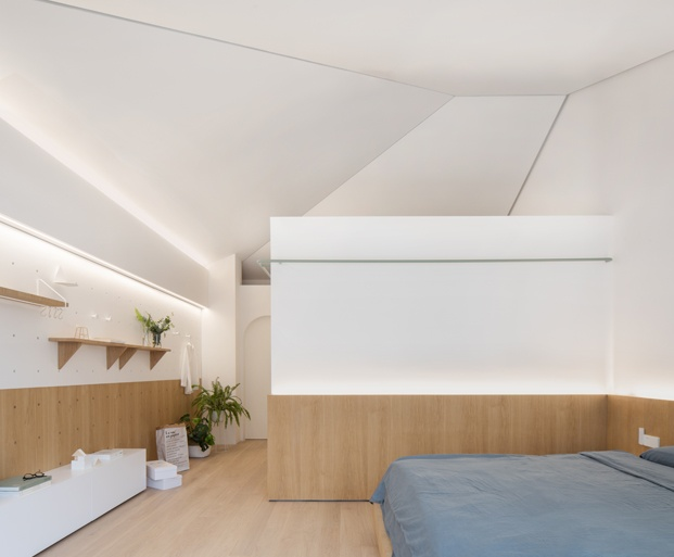 A white house a growing home casa en shanghai dormitorio diariodesign