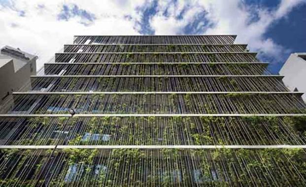 fachada Co Op Kyosai Plaza en Tokyo world architecture festival 2017 diariodesign