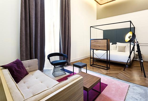 hotel en san sebastián One Shot Tabakalera de Alfaro Manrique habitacion diariodesign