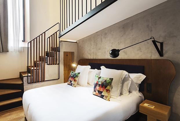 hotel en san sebastián One Shot Tabakalera de Alfaro Manrique suite diariodesign