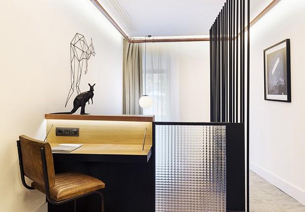 hotel en san sebastián One Shot Tabakalera de Alfaro Manrique duplex diariodesign