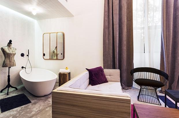 hotel en san sebastián One Shot Tabakalera de Alfaro Manrique bano diariodesign