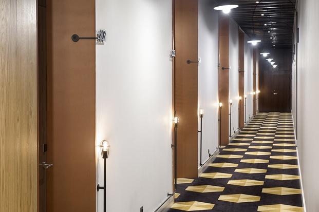 hotel en san sebastián One Shot Tabakalera de Alfaro Manrique diariodesign