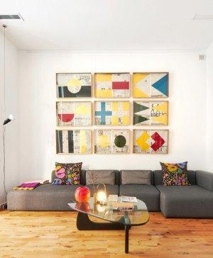 Up Gracia Home Studio Masaaki Higashi casa en barcelona estar diariodesign