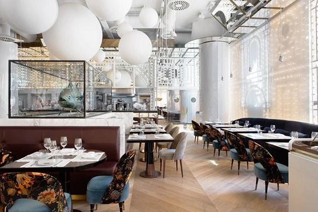 restaurante Bibo de Lázaro Rosa Violán en madrid diariodesign