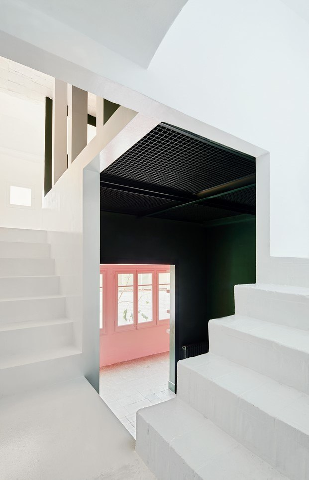 casa horta guillermo santomá escaleras diariodesign