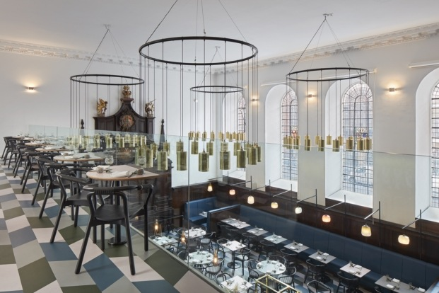 duddell's restaurante iglesia en londres diariodesign