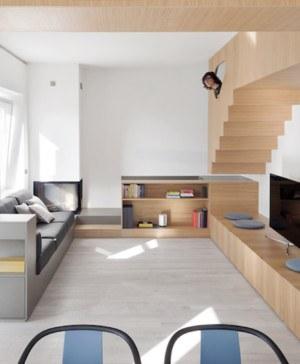 estudio gosplan casa into the woods reforma integral salon escalera lo mejor de la semana en diariodesign