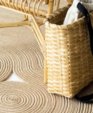 alfombra magma yute martin azua fibras naturales diariodesign