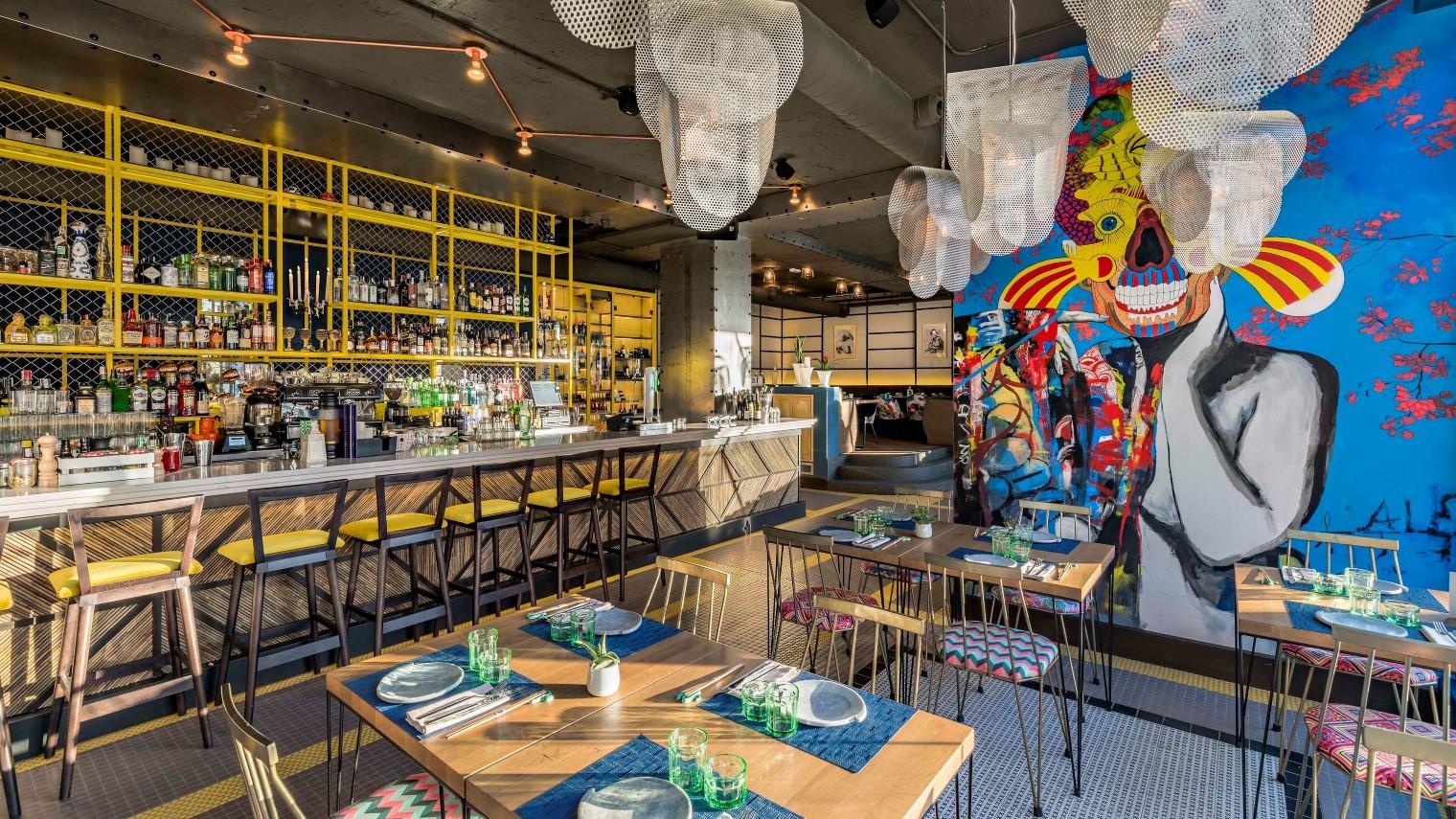 Hermosa Restaurante De Cocina Del País Festooning - Ideas Del ...