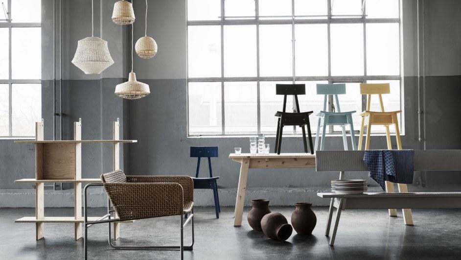 sillas coleccion industriell ikea de Piet Hein Fek taller diariodesign