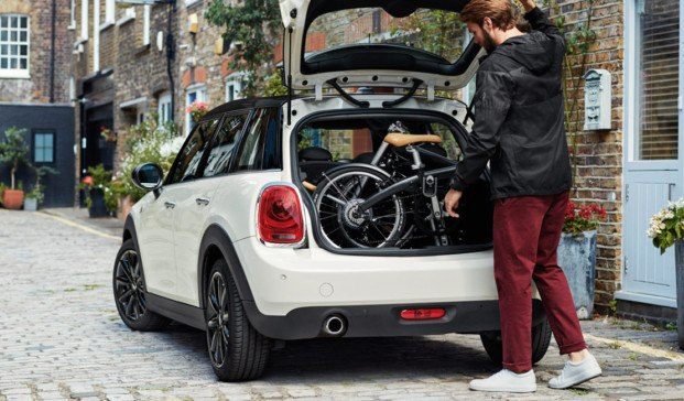 bicicleta plegable mini coche diariodesign