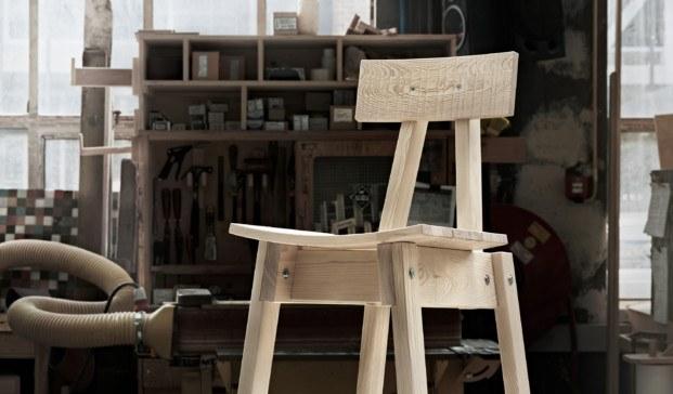 silla de la coleccion industriell ikea de Piet Hein Fek diariodesign