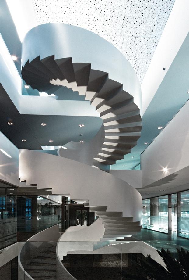 Actiu Parque Tecnologico oficinas interior edificio diariodesign