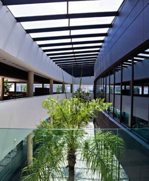 Actiu Parque Tecnologico jardin premio sostenibilidad interior diariodesign