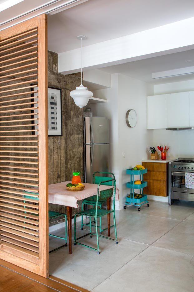Apartamento Varanda en río de janeiro del Estudio Chao cocina diariodesign