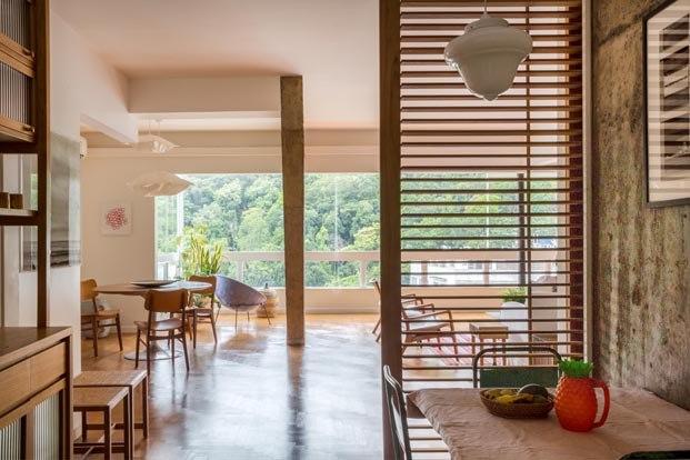 Apartamento Varanda en río de janeiro del Estudio Chao arquitetura colonial diariodesign