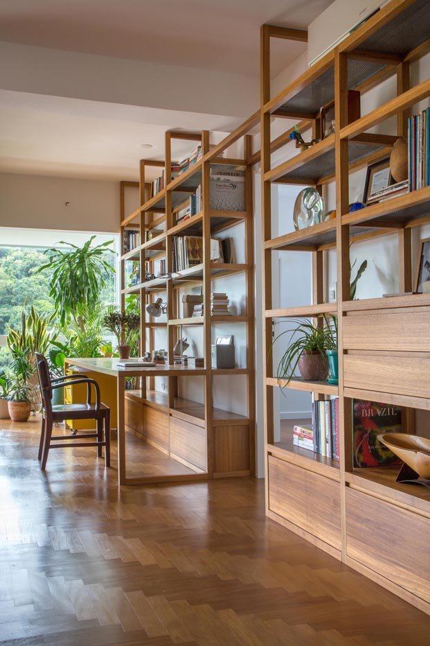 Apartamento Varanda en río de janeiro del Estudio Chao libreria salon diariodesign