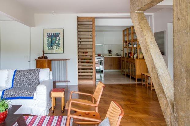 Apartamento Varanda en río de janeiro del Estudio Chao cocina estructura hormigon diariodesign