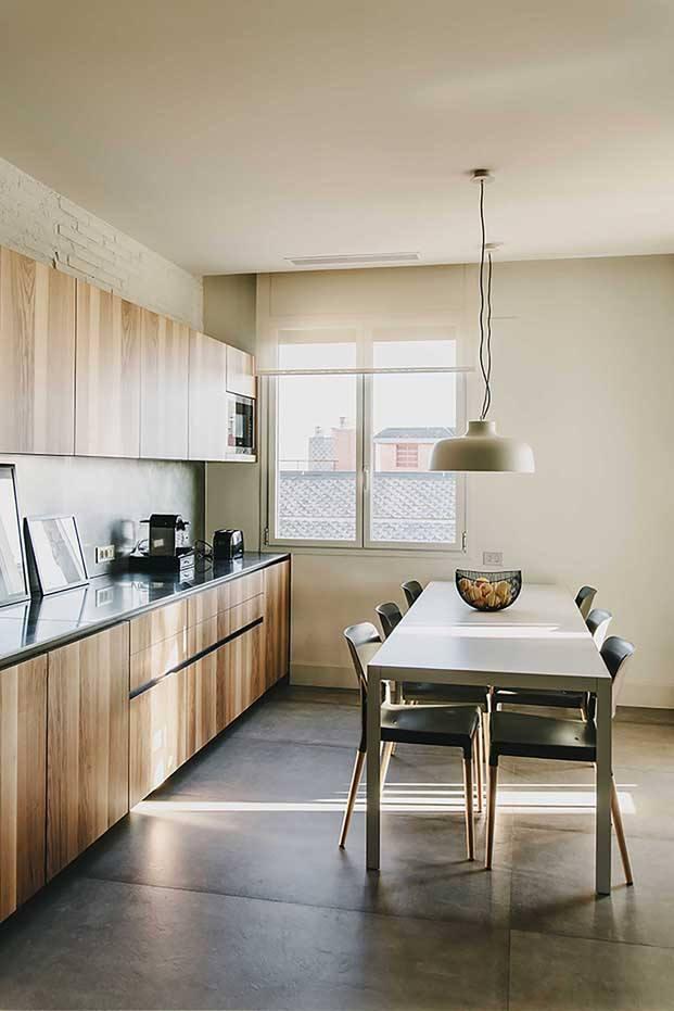 cocina boffi en un apartamento en barcelona diariodesign