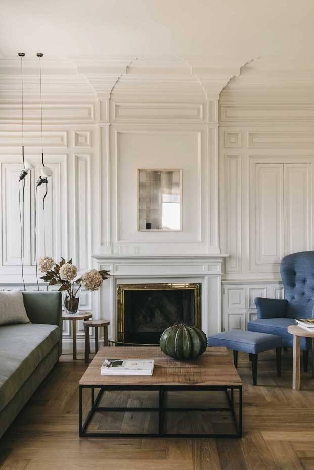 vivienda en barcelona barrio San Gervasi interiorismo de Lopez Vilalta sala de estar diariodesign