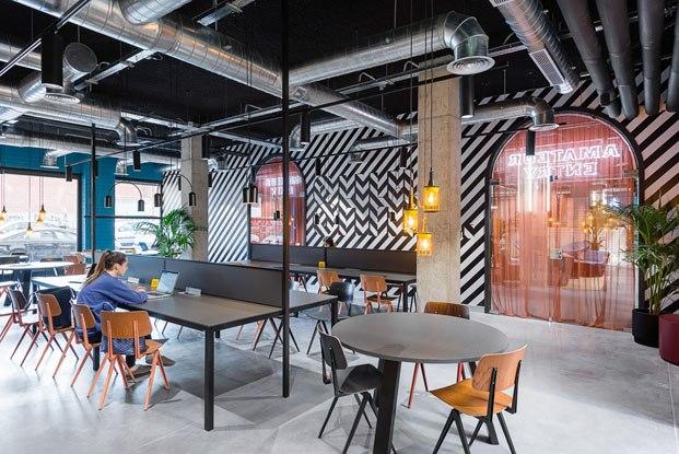The Student Hotel Campus en Barcelona reforma de Masquespacio diariodesign