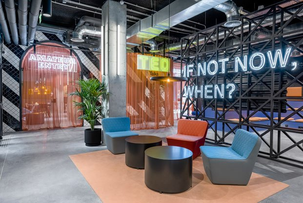 The Student Hotel Campus en Barcelona reforma de Masquespacio mobiliario de sancal diariodesign