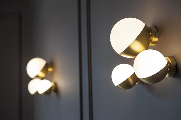 lamparas del hotel villasoro en san sebastian de espacio en blanco diariodesign