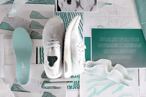 adidas x parley for the ocean exposicion design does diariodesign