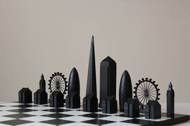 Skyline Chess David Chiesa diariodesign