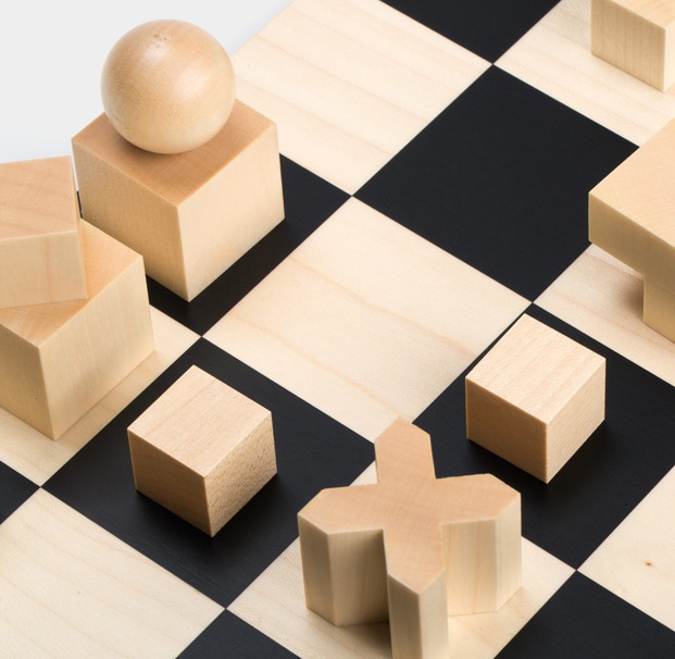 ajedrez Bauhaus Chess Set diariodesign