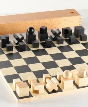 ajedrez Bauhaus Chess Set diseno de Josef Hartwig diariodesign