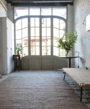 casa de campo de la diseñadora gesa hansen en las afueras de paris diariodesign