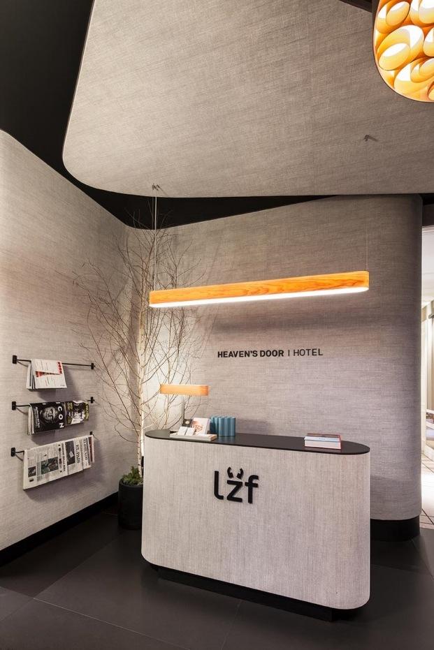 casa decor 2018 recepcion hotel lzf monica garrido diariodesign curvas