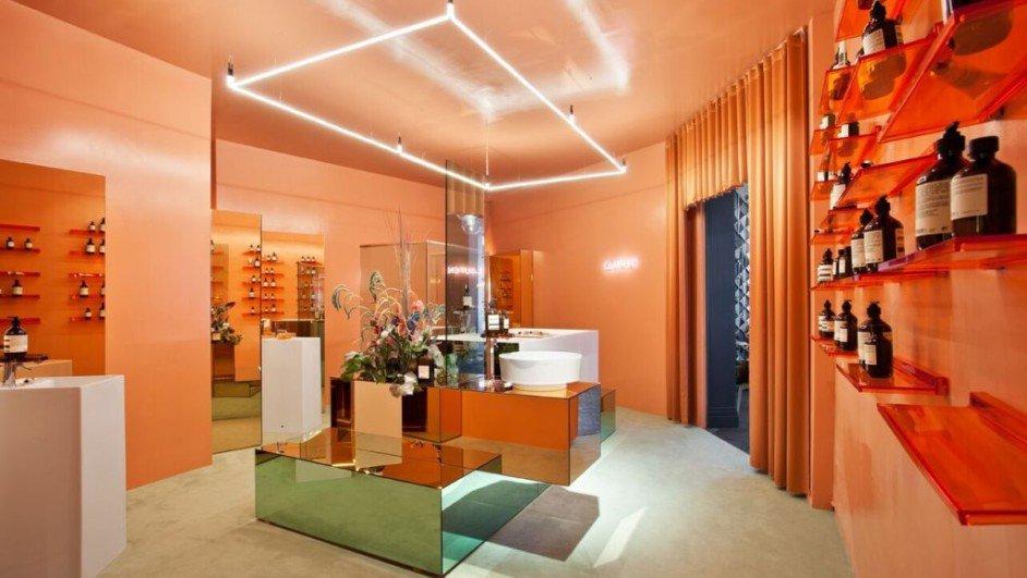 casa decor bano laufen kartell glossier rosa ideas deco diariodesign