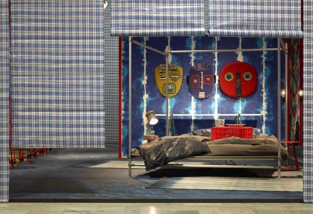 casa imaginada de paola navone en feria estocolmo cortines diariodesign