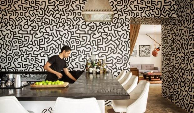 casa Pablo Escobar transformada en un Design Hotels bar diariodesign