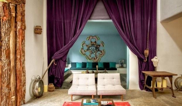 habitacion de la casa Pablo Escobar transformada en un Design Hotels diariodesign