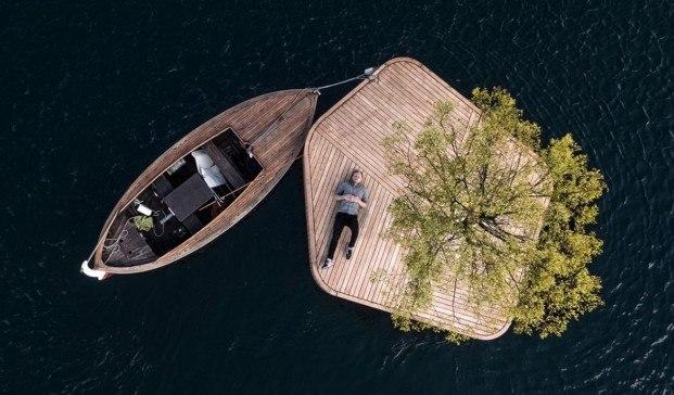 una isla como espacio publico en el puerto de copenhague diariodesign