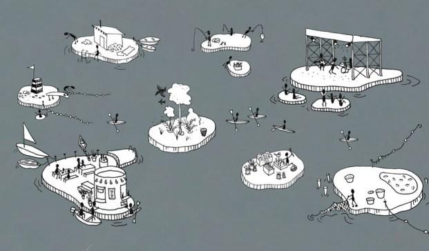 proyecto de espacio publico en el puerto de copenhague diariodesign