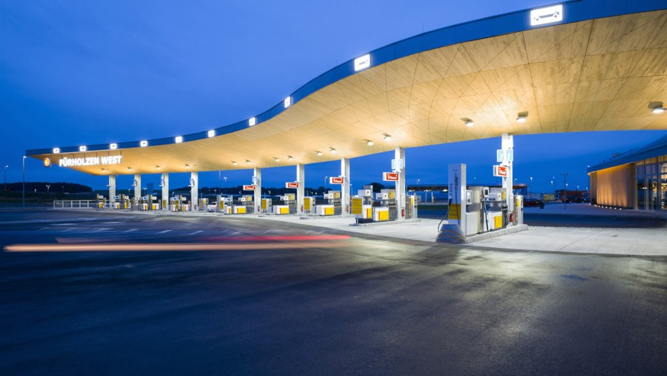 gasolinera Fürholzen West nuevos combustibles diariodesign