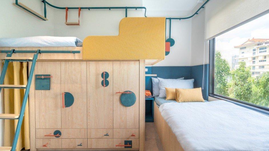 fabrica de benetton pisos de estudiantes reducidos bangkok diariodesign