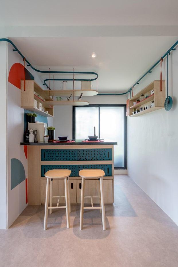 los pisos reducidos de fabrica para estudiantes en Bangkok diariodesign