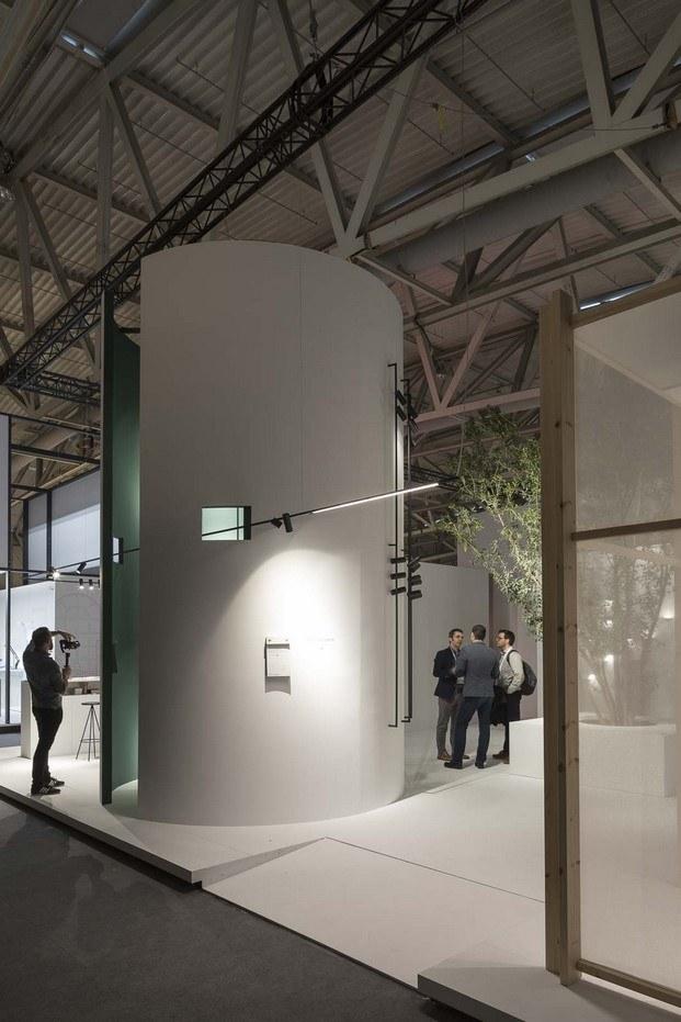 stand arquitectura fluvia light+building diariodesign