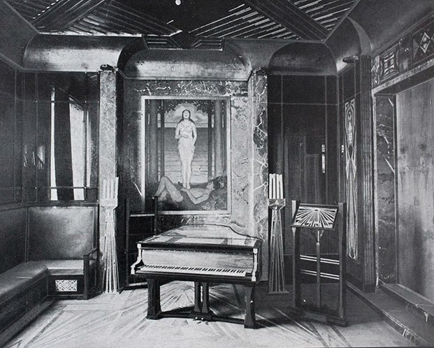 interior casa peter behrens darmstadt diariodesign