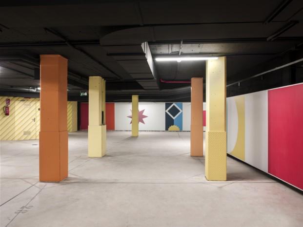 aparcamiento de viviendas proyecto de teresa sapey en diariodesign inspirado en villa planchart di gio ponti