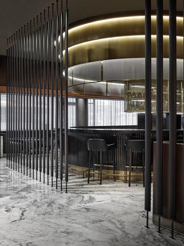 El icónico Radisson Collection Royal Hotel de Arne Jacobsen cafe diariodesign
